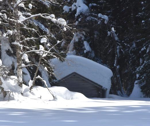 Mindre hus i Flickeråsen.