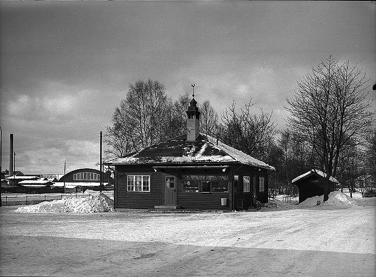 Nya Pressbyråkiosken från 1939